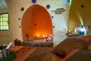 Casas Cueva Cazorla Casa Maria dormitorio
