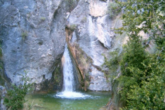 Cascada arroyo Guazalamanco