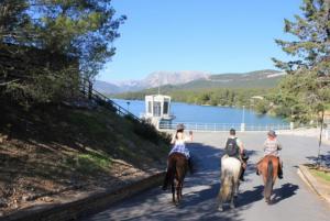 Ruta a caballo Pantano